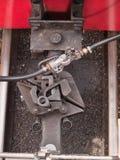 Drevkoppling på vagnar för smalt mått Royaltyfri Fotografi