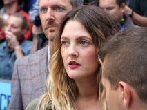 Drew Barrymore à aller la première de distance Photo stock