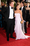 Drew Barrymore, Hugh Grant Photos libres de droits