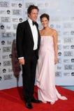 Drew Barrymore, Hugh Grant Imagen de archivo libre de regalías
