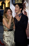 Drew Barrymore and Justin Long Stock Photography