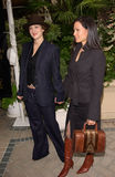 Drew Barrymore,Lucy Liu Royalty Free Stock Photos