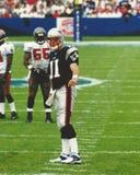 Drew Bledsoe, New England Patriots Photos libres de droits
