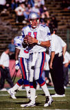 Drew Bledsoe New England Patriots Stock Photo