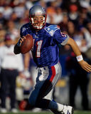 Drew Bledsoe New England Patriots Royalty Free Stock Images
