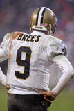 Drew Brees Quarterback des New Orleans Saints Images stock