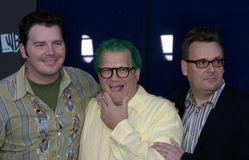 Drew Carey and Greg Proops Royalty Free Stock Photo