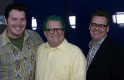 Drew Carey and Greg Proops Stock Photo