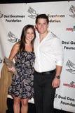 Drew Cheetwood & moglie  Immagini Stock