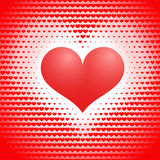 Drew heart. Abstract love concept Stock Photos