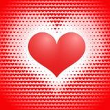 Drew heart. Abstract love concept Stock Photos