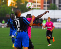Drew Russell, Pittsburgh RiverHounds Royalty Free Stock Photos