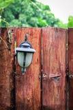 Drewna ogrodzenie Obrazy Stock