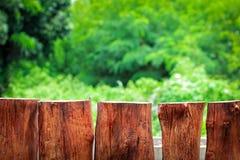 Drewna ogrodzenie Zdjęcie Royalty Free