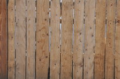 Drewna ogrodzenie Obrazy Royalty Free