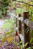 Drewna ogrodzenie Obraz Stock