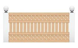 Drewna ogrodzenie Obraz Royalty Free