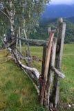 Drewna ogrodzenie Fotografia Royalty Free