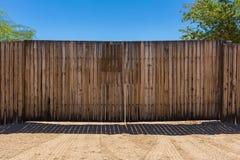 Drewna ogrodzenie Fotografia Stock