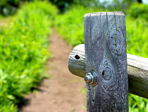 Drewna złącze Zdjęcie Royalty Free