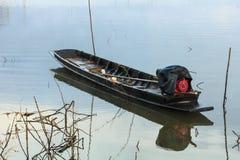 Drewniana łódź Zdjęcia Stock