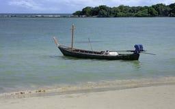 Drewniana łódź Obraz Royalty Free