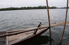 Drewniana łódź Zdjęcie Stock