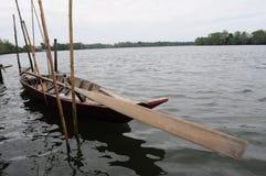Drewniana łódź Zdjęcia Royalty Free