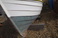 Drewniana łódkowata łuska Obrazy Stock
