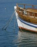 drewniana łódkowata stara część zdjęcia stock
