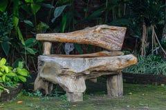 Drewniana ławka, przedmiot Fotografia Royalty Free