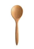 Drewniana łyżka Fotografia Royalty Free