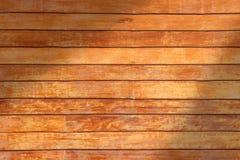 Drewniana ściana, drewniany tło Obrazy Royalty Free