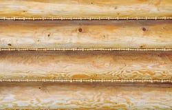 Drewniana ściana Fotografia Stock