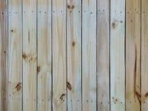Drewniana ścienna tekstura Fotografia Royalty Free