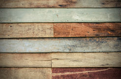 Drewniana ścienna tekstura, drewniany tło Obrazy Royalty Free