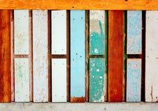 Drewniana ścienna tekstura, drewniany tło Obraz Stock