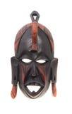 Afrykańska drewniana maska   Zdjęcie Royalty Free