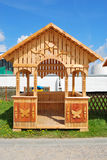 Drewniana altana Zdjęcia Stock