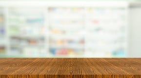 Drewniana apteka zdjęcie stock