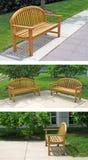 Drewniana ławka Obraz Stock