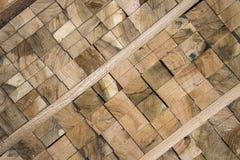 Drewniana barłóg tarcica zdjęcie royalty free
