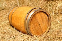 Drewniana baryłka Obrazy Stock