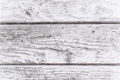 Drewniana biurko deska używać jako tło Zdjęcie Royalty Free