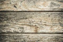 Drewniana biurko deska używać jako tło Obrazy Royalty Free