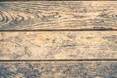 Drewniana biurko deska używać jako tło Zdjęcie Stock