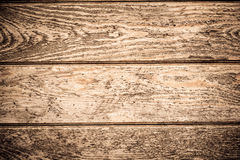 Drewniana biurko deska używać jako tło Obraz Royalty Free