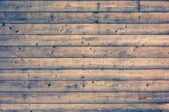 Drewniana biurko deska używać jako tło Fotografia Royalty Free