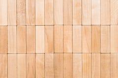 Drewniana blokowa tekstura Obrazy Stock