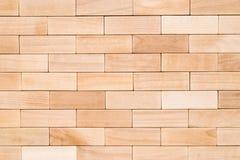 Drewniana blokowa tekstura Obraz Stock